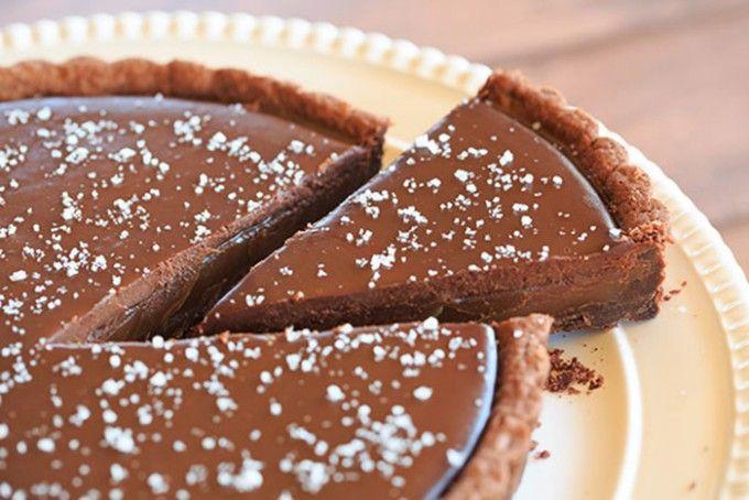 Karamelový dort s kvalitní čokoládou | NejRecept.cz