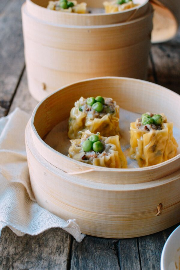 Shumai or Siu Mai is a dim sum favorite, with an easy pork/shrimp filling. Try our traditional recipe to make these at home, and our other dim sum recipes.