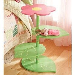 idea para pie de lámpara/mesa de luz