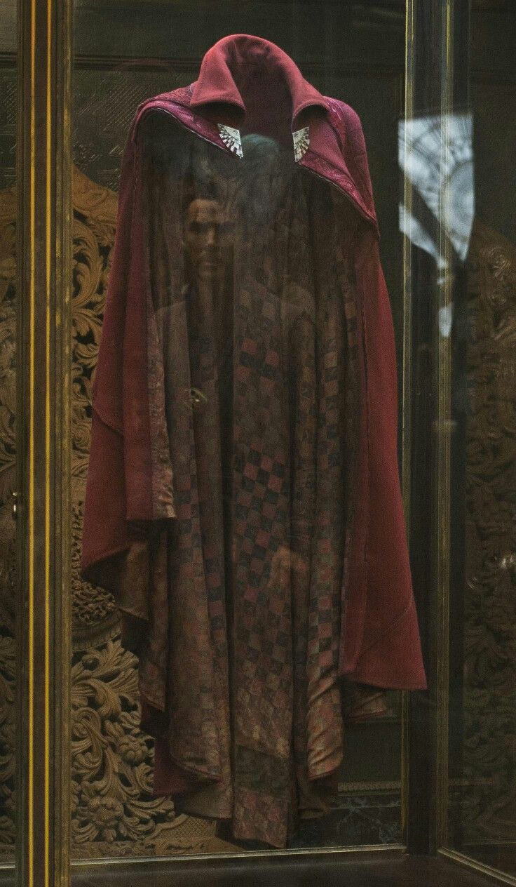 Dr. Strange's cloak of levitation
