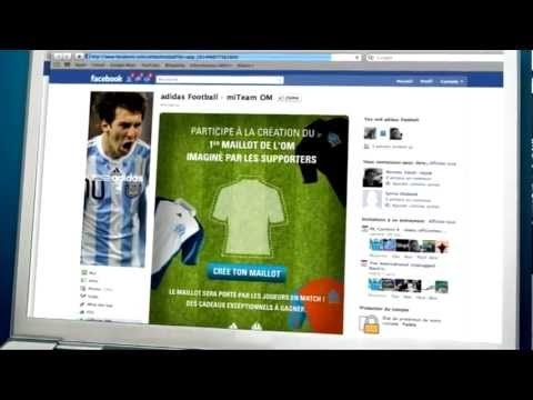 Le 1er maillot créé et choisi par les supporters (2011-12)
