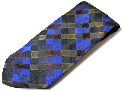 Tall Men's Scottish Clan Tartan Plaid Silk Tie Mondo di Marco Italy