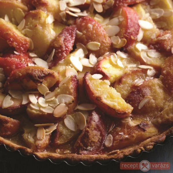 Őszibarackos pite mascarponekrémmel