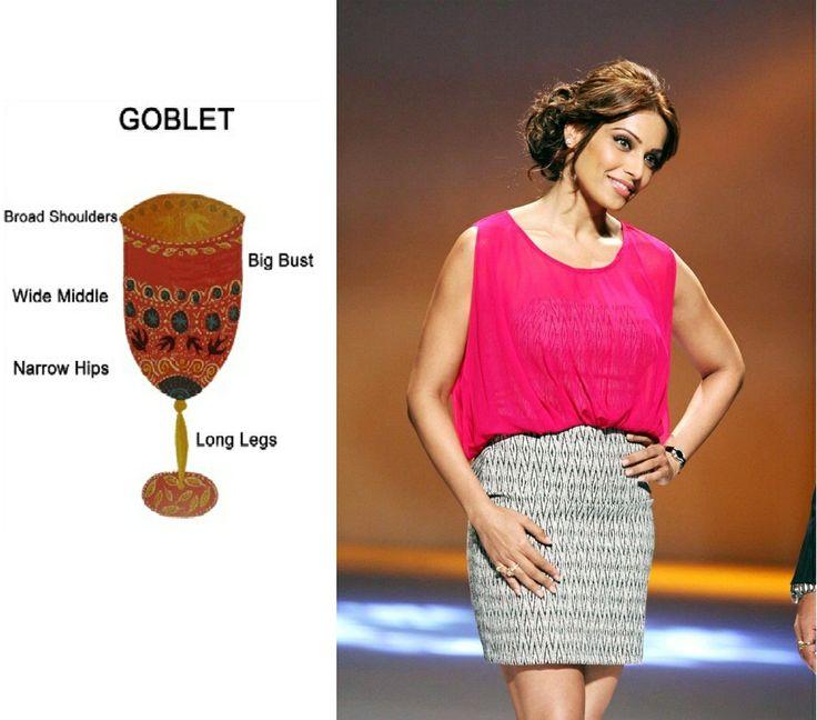 Goblet Body Shape Celebrities