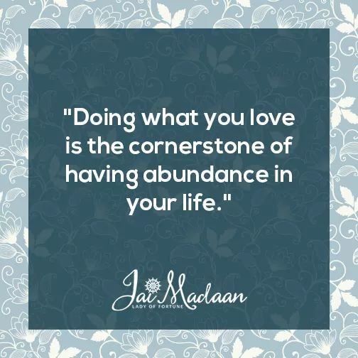 Doing what you love is the cornerstone of having abundance in your life. #inspiration #QOTD#motivation https://t.co/DC3uQ52e5L