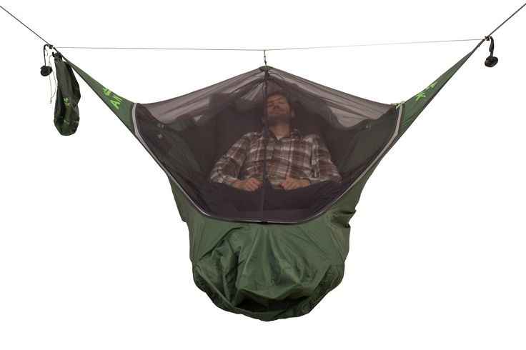 Amok Equipment Draumr camping hammock integrated bug net