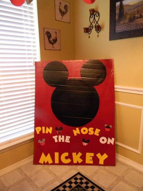 Mickey Mouse boys birthday party
