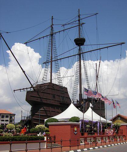 Portuguese ship, Melaka - http://malaysiamegatravel.com/portuguese-ship-melaka/