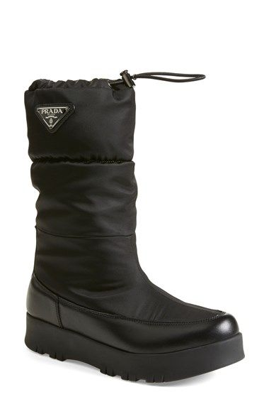 Prada Toggle Boot (Women) available at #Nordstrom