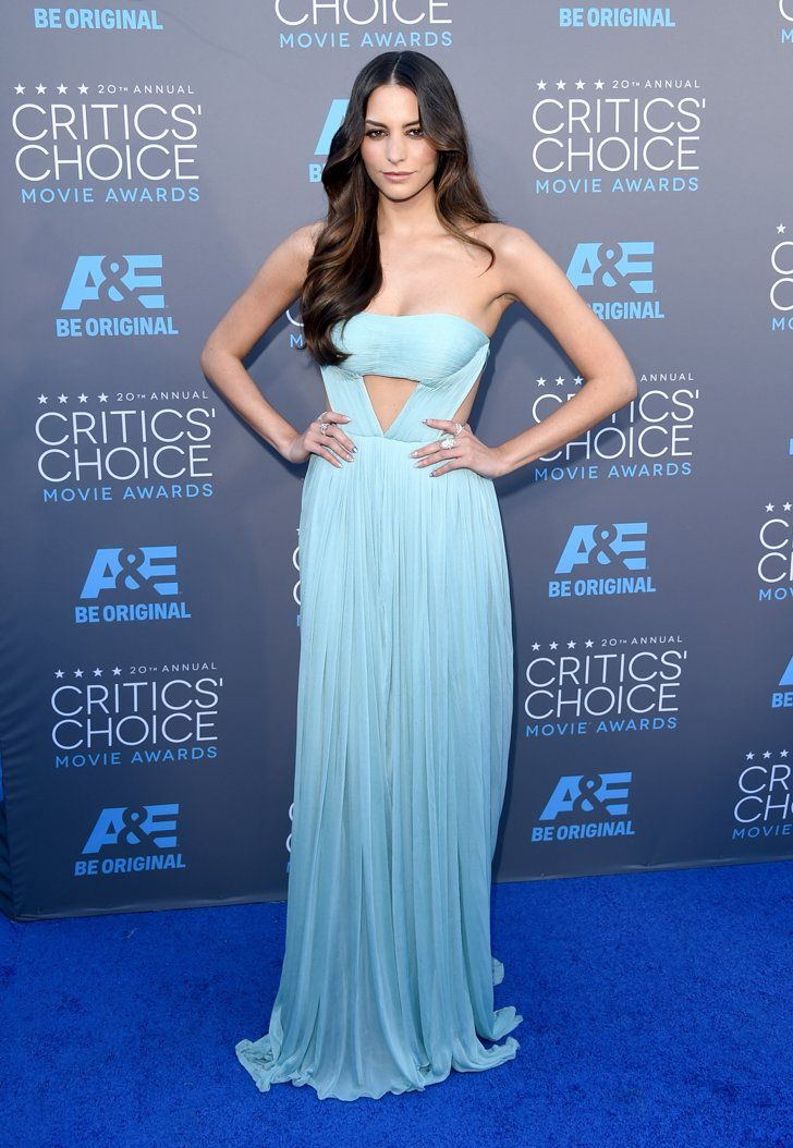 Pin for Later: Take a Look Back at the Most Memorable Dresses From Critics' Choice Awards Past Genesis Rodriguez, 2015