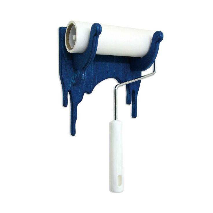 Woodrip Sticky Roller Holder - Blue
