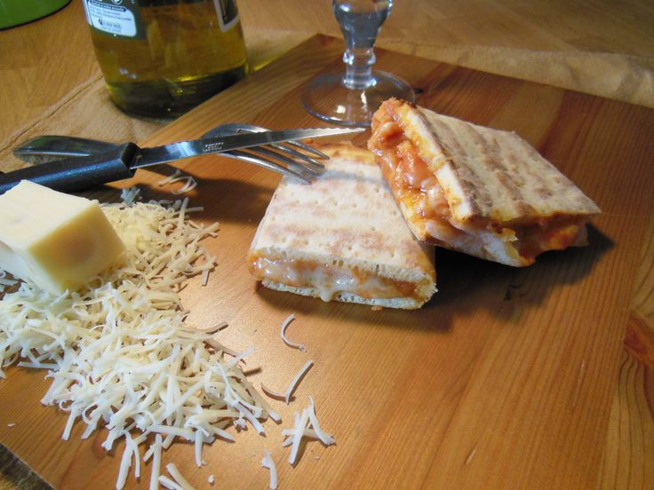 Calzone trois fromages