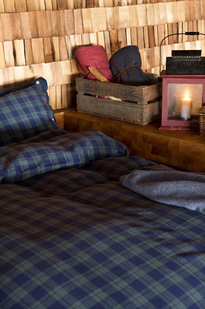 Lodge Check Dark Indigo/Green #Pillowcase from Canada Goose Home. #Design