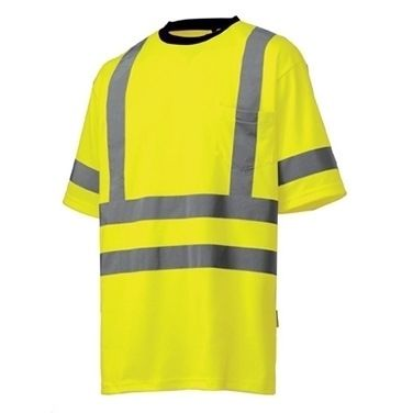 Helly Hansen 79086Kenilworth Womens Hi Vis T-Shirt  features a high visibility reflex band around the waist, cuffs and shoulders - helping to keep you safe and seen. It carries an EN 471 Class 2 rating for small and medium, whilst sizes large and upwards carry an EN 471 Class 3 rating.