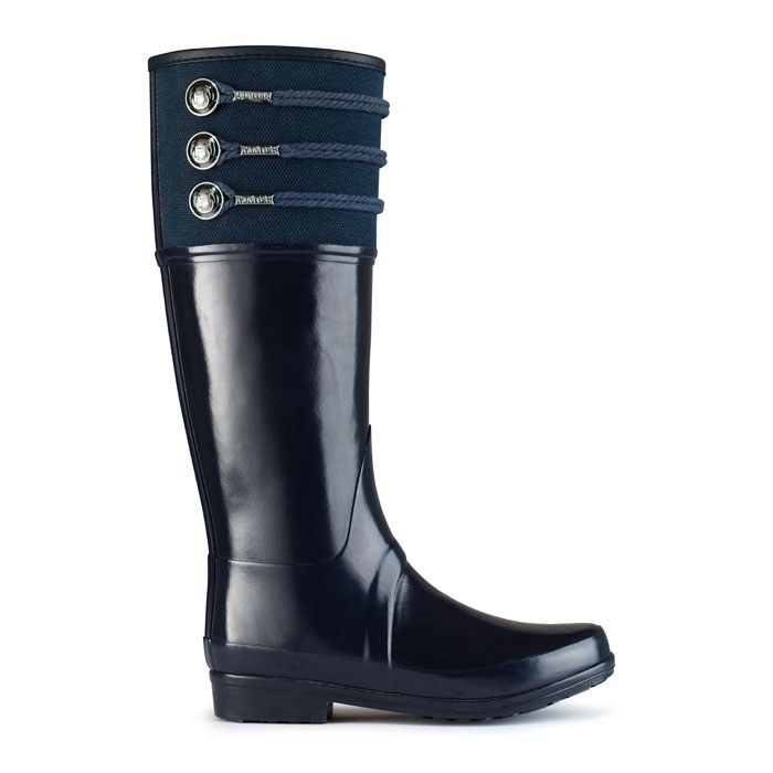 Cost per lifetime wear? Surely they are worth it! Nautical Inspired Wellington Boots | Regent Earlton | Hunter Boot