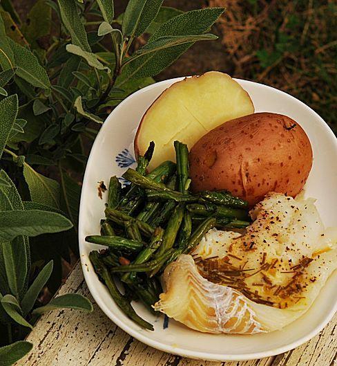 Старинный лимонный соус к рыбе - Раня