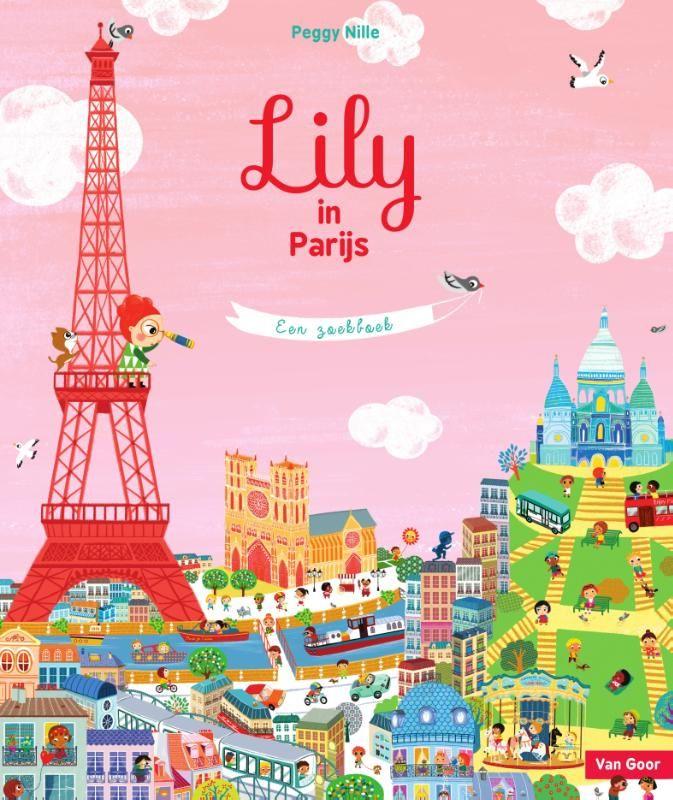 Ontdek Parijs met dit kleurrijke zoekboek   In dit gedetailleerde prentenboek gaat het ondernemende meisje Lily naar Parijs. Daar bezoekt ze haar neefje Paul. Samen speuren ze door de mooie wereldstad op zoek naar een vreemd mannetje dat over de daken zwerft. En waar is Pauls lievelingskat gebleven?  Op de heldere, paginavullende prenten valt van alles te ontdekken. Dit aansprekende zoekboek is geschikt voor alle leeftijden.