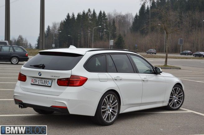 BMW 330d Touring with M-Sport Package - Test Drive