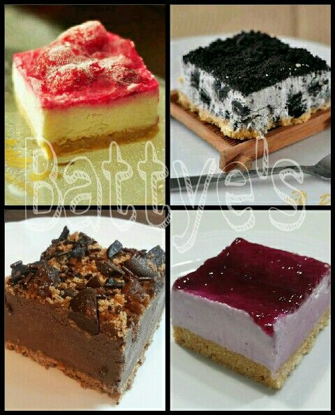 Mini cheesecakes made by me..