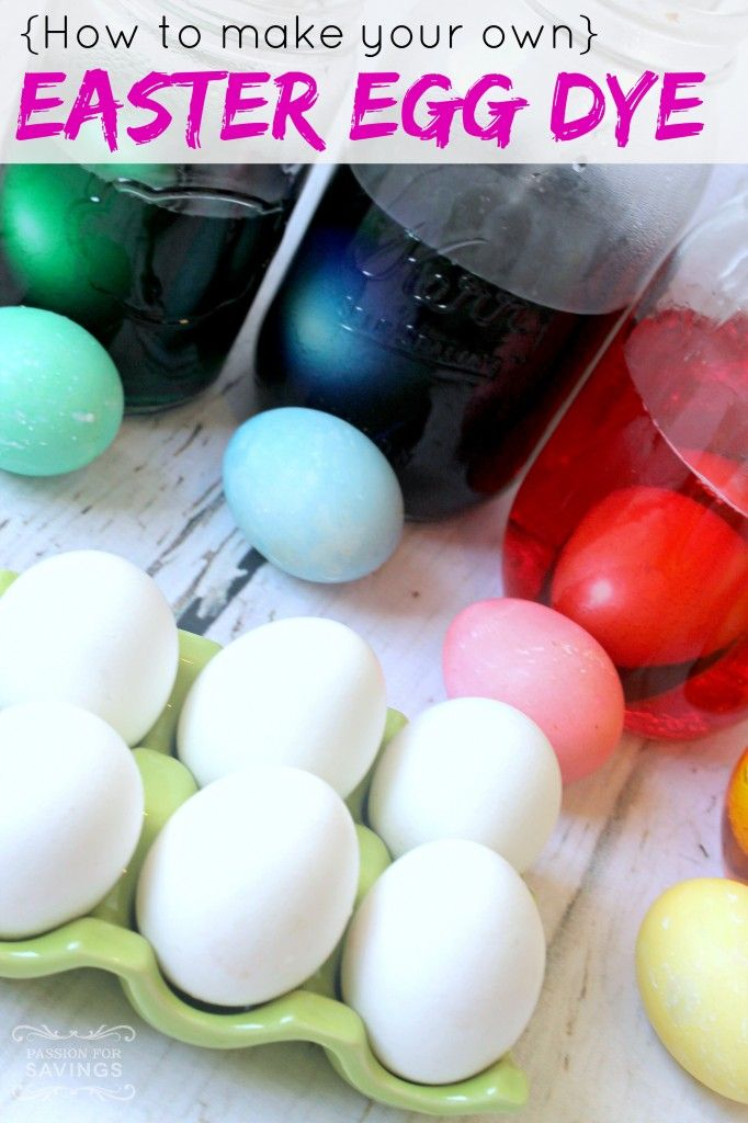 Homemade Easter Egg Dye Recipe Perfect For Easter Parties