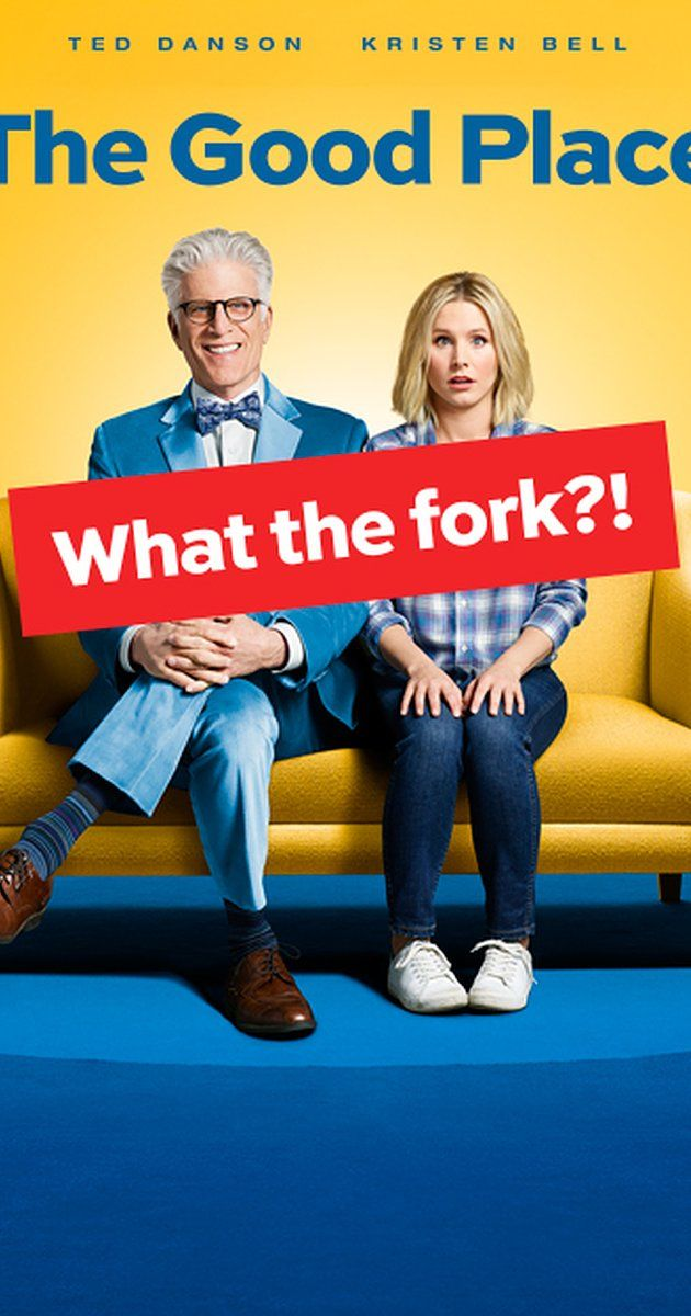 """Created by Michael Schur.  With Kristen Bell, William Jackson Harper, Jameela Jamil, D'Arcy Carden. A woman struggles to define what it means to be """"good."""""""