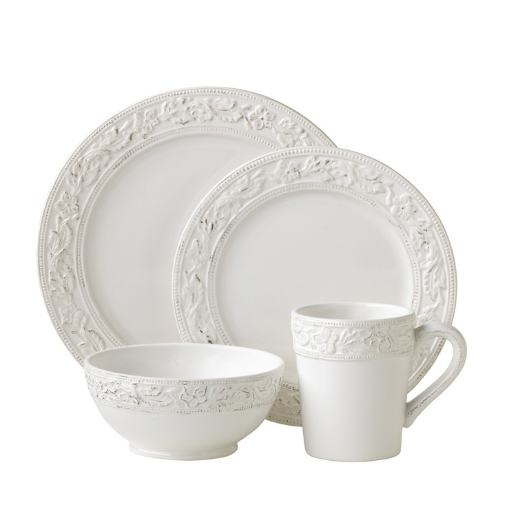 Pfaltzgraff Country Cupboard Dinnerware Set  sc 1 st  Pinterest : country style dinnerware sets - pezcame.com