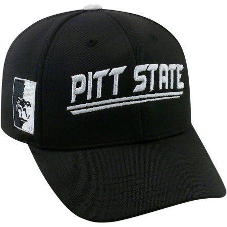 University Of Pittsburg State Gorillas Black Baseball Cap