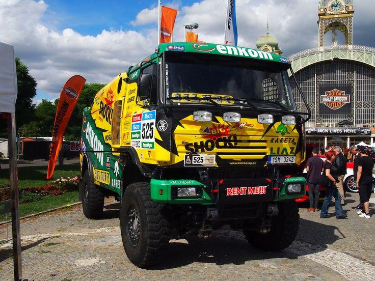 LIAZ 4x4 Sechszylindermotor Liaz/Tedom M1.2, for Rally Paris Dakar am Prague Harley days am 5.9.2015