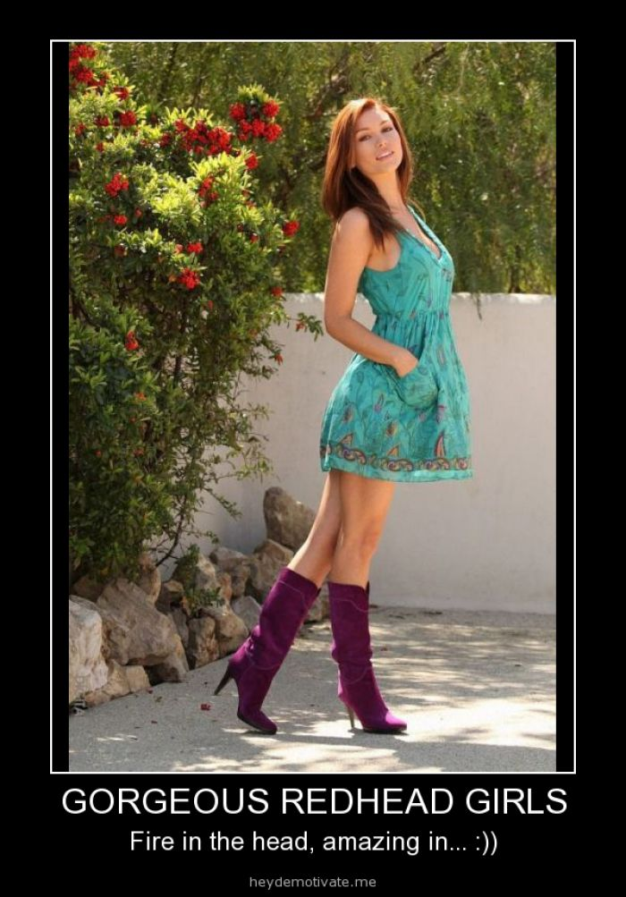 Redhead girls - girl meme - http://www.jokideo.com/