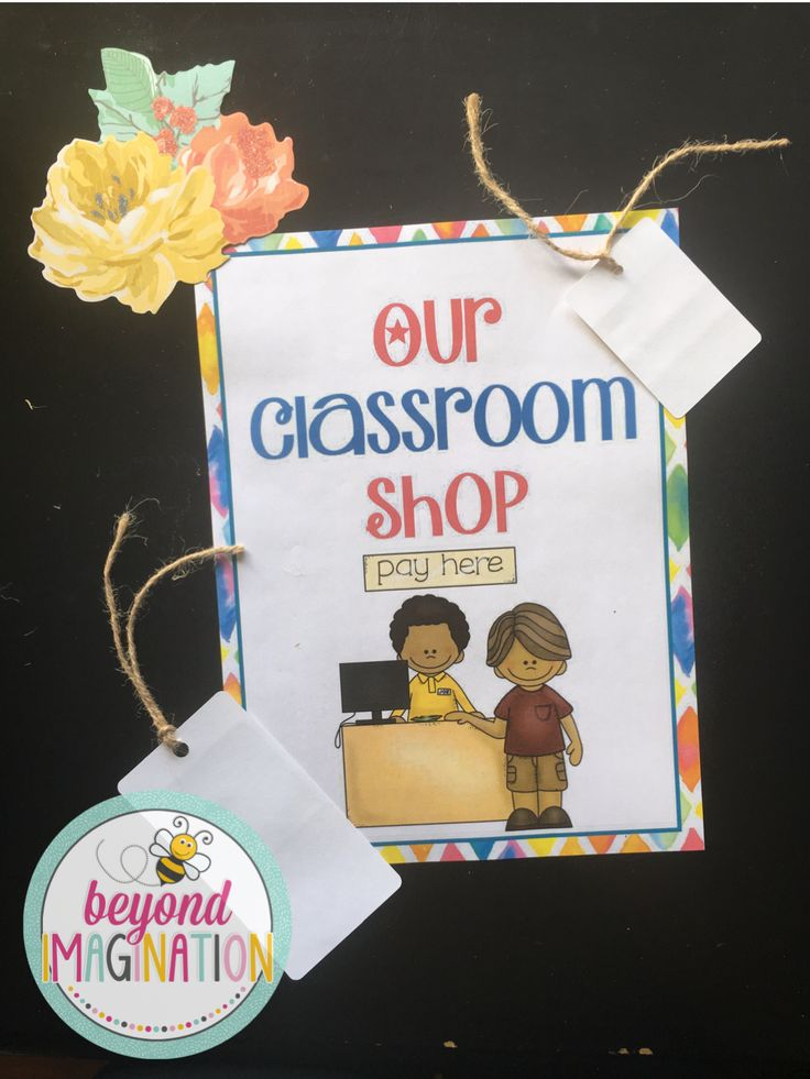 """Having a classroom shop motivates students to be on task and save up their hard earned """"cash"""" to buy what they want. This is a beautiful classroom economy system that is perfect for elementary learners. It's so fun and vibrant!"""