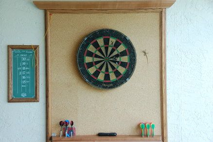 Dartboard Backboard idea