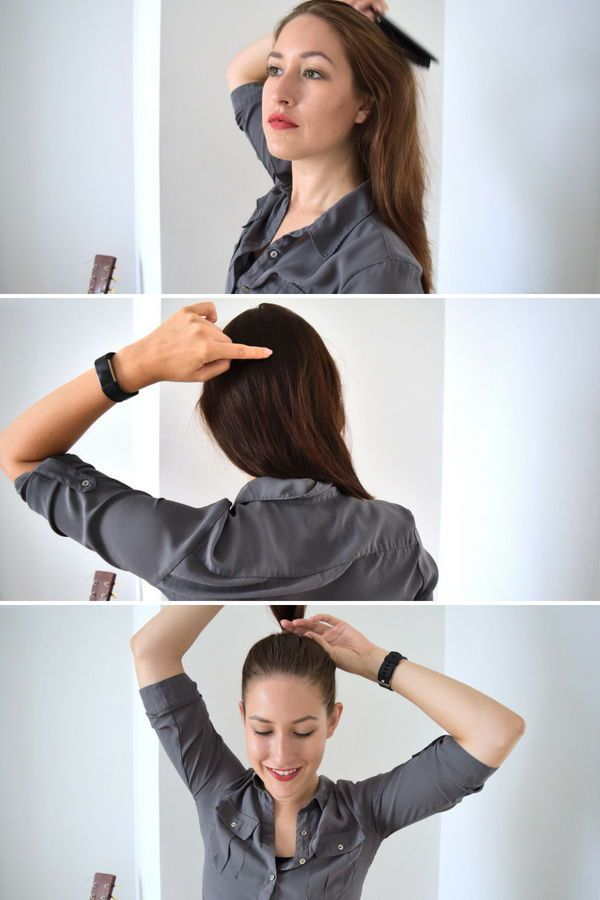 So Hält Der Hohe Zopf Beauty Tipps Und Tricks Lange Haare Zöpfe