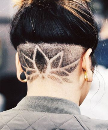 girl undercut ideas