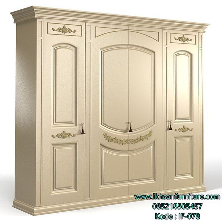 JualLemari Pakaian Mewah Pintu 4 Terbaru Lemari Pakaian Mewah Pintu 4…