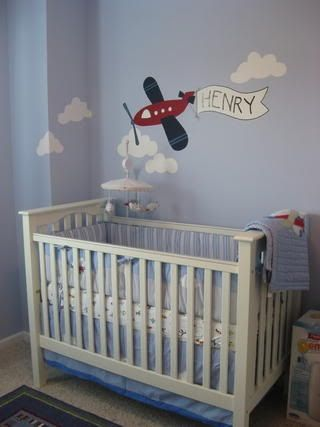 New Airplane Baby Room Ideas