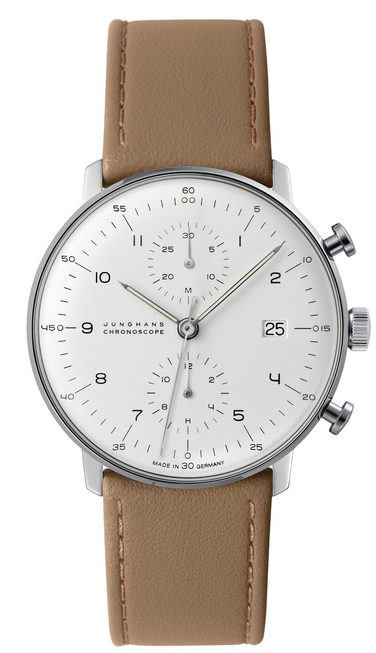 """JUNGHANS Max Bill Watch Range Updated For 2015 - by Rob Nudds - see & read more on aBlogtoWatch.com """"The Max Bill by Junghans range does something strange to my brain. When you encounter a Junghans Max Bill watch for the first time, you might not know what to say. But why? They are not bizarre like an MB&F, Panda-piloted twin-turbine; they don't perform an optical illusion a la Ressence Type 3; they're not even made of an unusual material like a Richard Mille or a Schofield Blacklamp. No…"""
