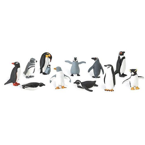 """Penguins Of The World Figurines (2"""" Tall)"""