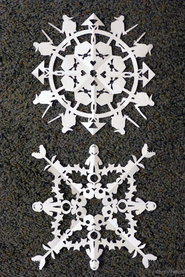 20 cool snowflake patterns to make with