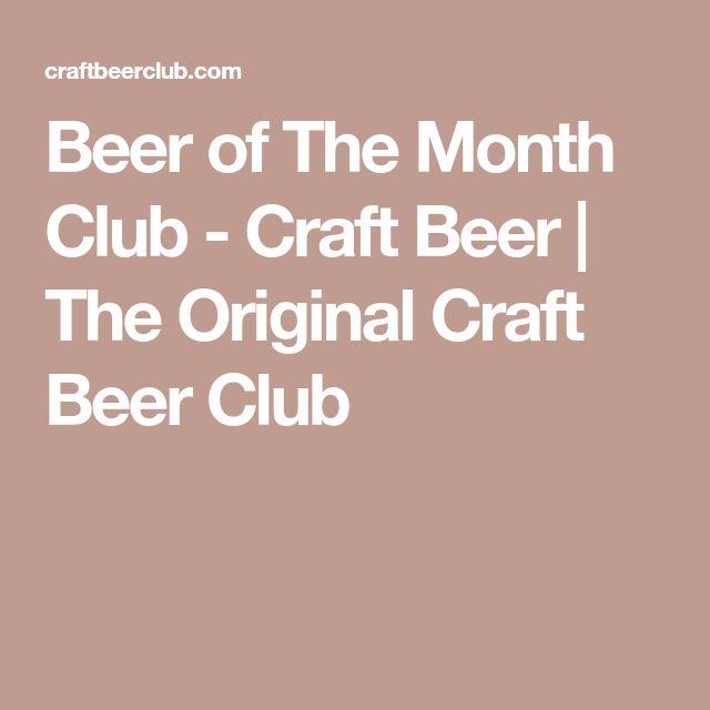 Beer of The Month Club - Craft Beer   The Original Craft Beer Club