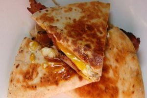 These Are The BEST Bacon Egg & Cheese Quesadillas You'll Ever Eat!