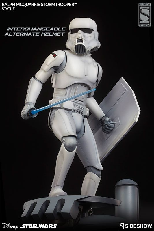 Star Wars Ralph McQuarrie Stormtrooper Statue by Sideshow Collectibles