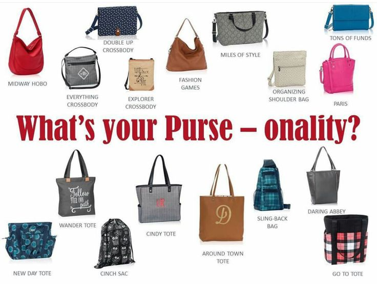 Which is your purse-onality? www.mythirtyone.com/bagsbymandy
