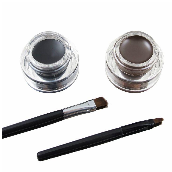 Купить 2 в 1 прямая поставка новые прибытия бестселлером коричневый + черный гель карандаш для глаз косметический комплект для глаз макияж глази другие товары категории Подводка для глазв магазине Kupa Charm&Beauty StoreнаAliExpress. подводка для глаз ингредиенты и советы макияж подводка для глаз