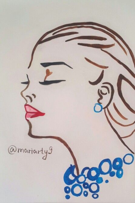 You can see more of my drawings on instagramm https://instagram.com/mariarty9/  #fashion #art