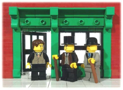 Lego-Illustrationen bringen junge Leser zu Sherlock Holmes – LinkedIn   – lego illustration