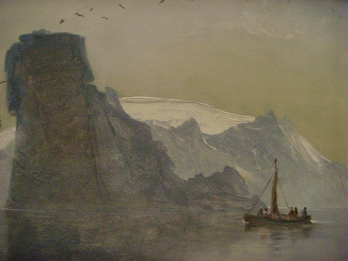Peder Balke (1804-1887): painting at the Louvre