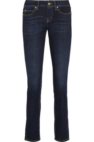 The Breathless low-rise skinny jeans #jeans #covetme #mihjeans