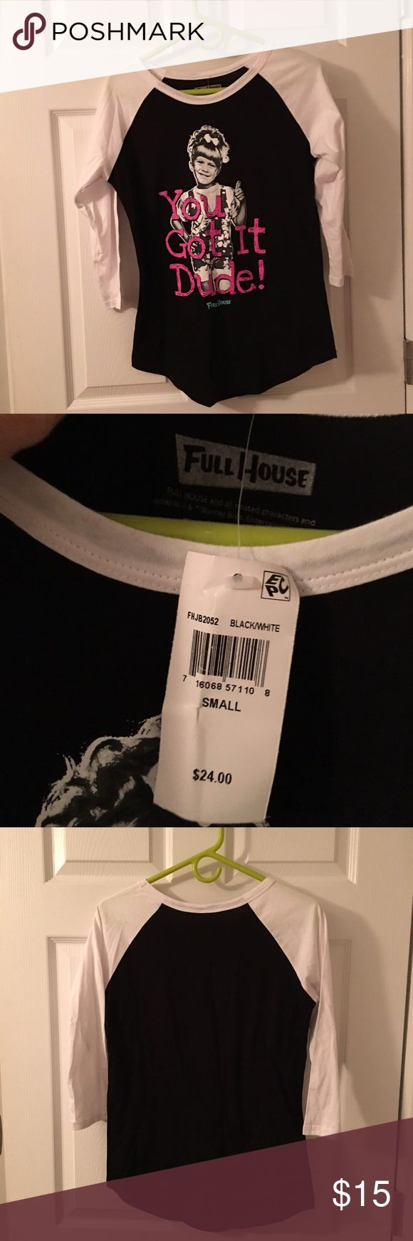 Full house shirt  Michelle tanner from Macy's Full house shirt  Michelle tanner full house Tops Muscle Tees
