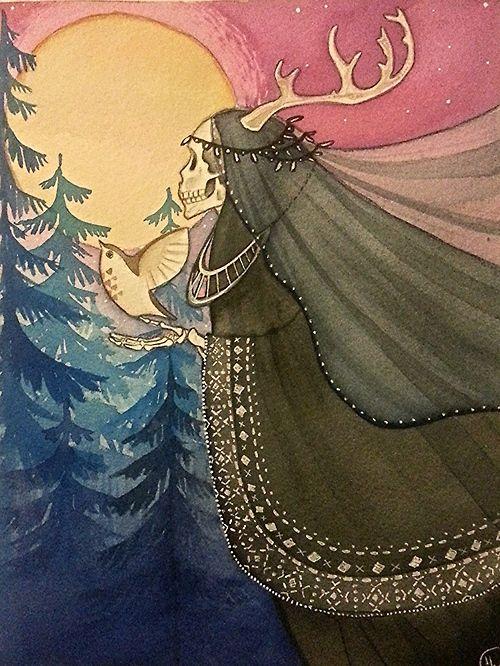 +Lady Death and Karelian Soul Bird+ by Tankero on DeviantArt