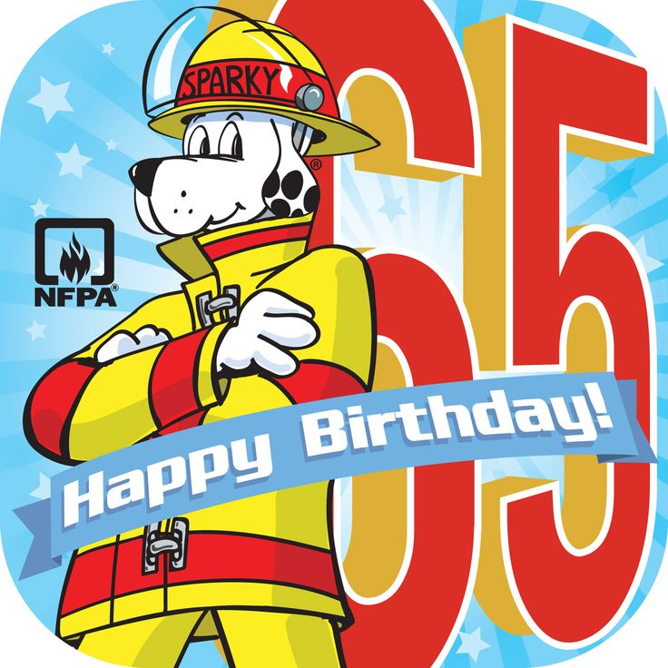 Join our #Thunderclap to wish Sparky the Fire Dog a Happy Birthday on March 18th! #Sparkys65th